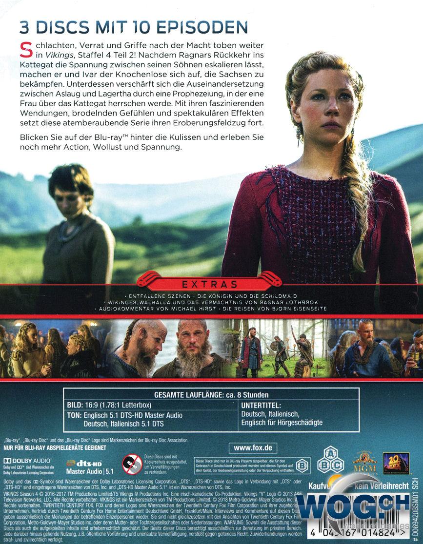 Vikings Staffel 4 Cover