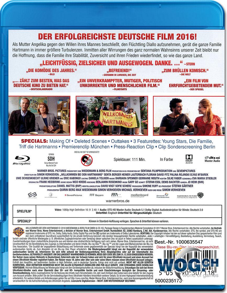 Willkommen Bei Den Hartmanns Blu Ray