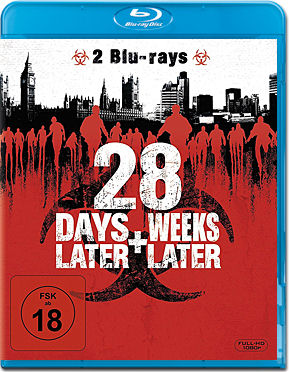 28 Days Later & 28 Weeks Later Blu-ray (2 Discs)