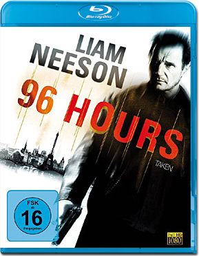 96 Hours - Taken 1 Blu-ray