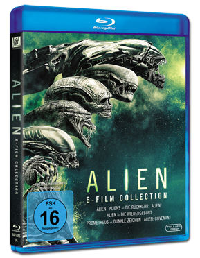 Alien - 6-Film Collection Blu-ray (6 Discs)