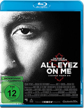 All Eyez on Me Blu-ray