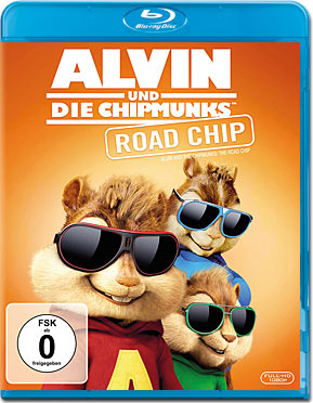 Alvin und die Chipmunks 4: Road Chip Blu-ray