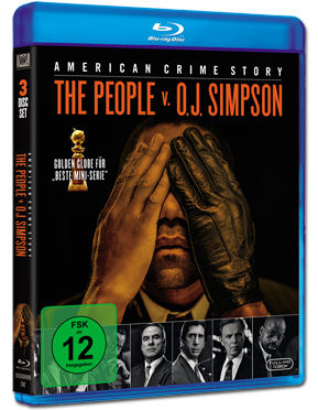American Crime Story - The People v. O.J. Simpson: Staffel 1 Box Blu-ray (3 Discs)