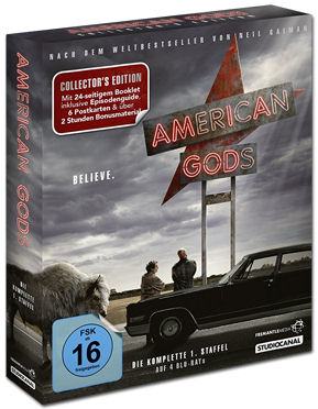 American Gods: Staffel 1 - Collector's Edition Blu-ray (4 Discs)