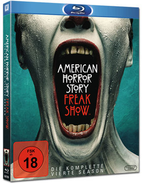 American Horror Story: Staffel 4 Box Blu-ray (3 Discs)