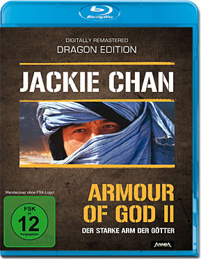 Armour of God 2: Der starke Arm der Götter Blu-ray