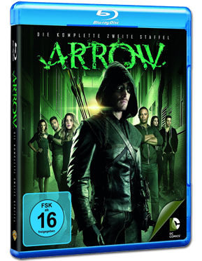 Arrow: Staffel 2 Box Blu-ray (4 Discs)