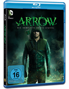 Arrow: Staffel 3 Blu-ray (4 Discs)