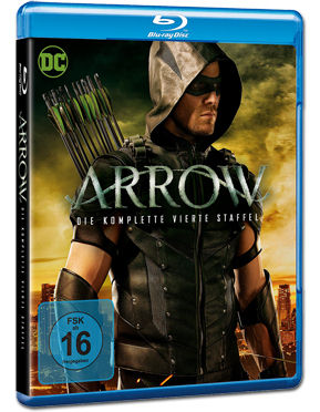 Arrow: Staffel 4 Box Blu-ray (4 Discs)