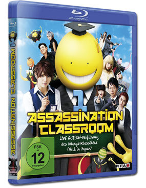 Assassination Classroom Part 1 Blu-ray