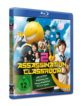 Assassination Classroom Part 2 Blu-ray
