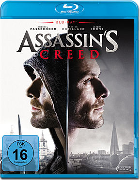 Assassin's Creed Blu-ray