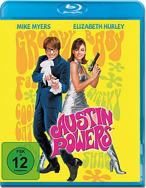 Austin Powers 1 Blu-ray