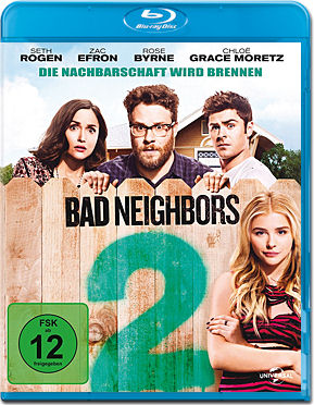 Bad Neighbors 2 Blu-ray