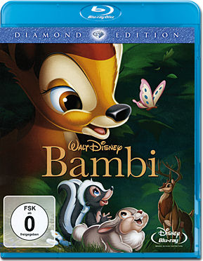 Bambi - Diamond Edition Blu-ray (Blu-ray & DVD)