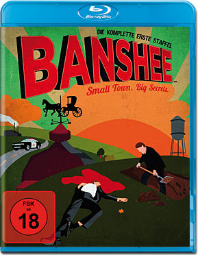 Banshee: Staffel 1 Box Blu-ray (4 Discs)