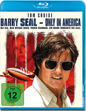 Barry Seal: Only in America Blu-ray