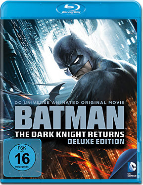 Batman: The Dark Knight Returns - Deluxe Edition Blu-ray