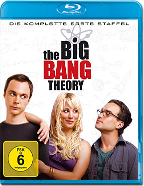 The Big Bang Theory: Staffel 01 Blu-ray (2 Discs)