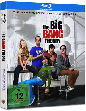 The Big Bang Theory: Staffel 03 Blu-ray (2 Discs)