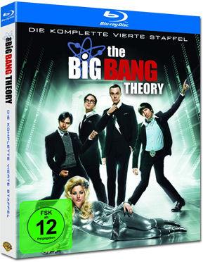 The Big Bang Theory: Staffel 04 Box Blu-ray (2 Discs)