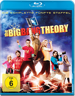 The Big Bang Theory: Staffel 5 Box Blu-ray (2 Discs)