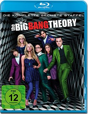 The Big Bang Theory: Staffel 6 Box Blu-ray (2 Discs)