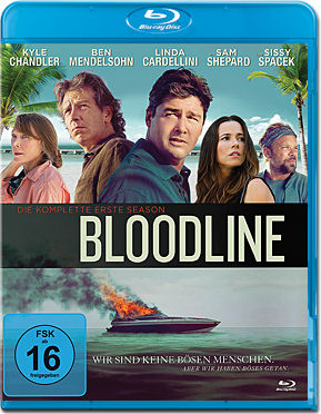 Bloodline: Staffel 1 Box Blu-ray (5 Discs)