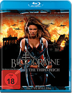 Bloodrayne 3: The Third Reich Blu-ray