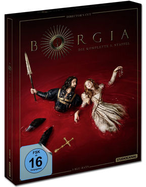 Borgia: Staffel 3 Box - Director's Cut Blu-ray (3 Discs)