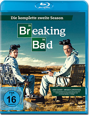 Breaking Bad: Season 2 Box Blu-ray (3 Discs)