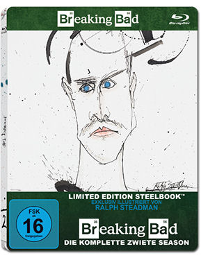 Breaking Bad: Season 2 Box - Steelbook Edition Blu-ray (3 Discs)