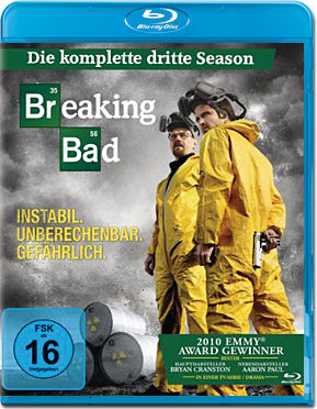 Breaking Bad: Season 3 Box Blu-ray (3 Discs)