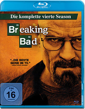 Breaking Bad: Season 4 Box Blu-ray (3 Discs)