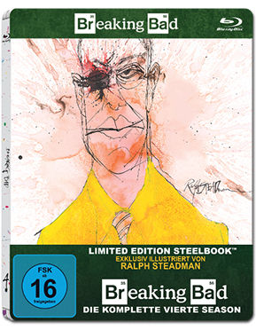 Breaking Bad: Season 4 Box - Steelbook Edition Blu-ray (3 Discs)