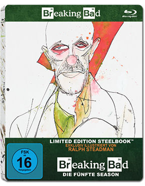 Breaking Bad: Season 5 Box - Steelbook Edition Blu-ray (2 Discs)