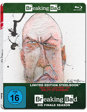 Breaking Bad: Die Finale Season - Steelbook Edition Blu-ray (2 Discs)