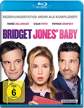 Bridget Jones' Baby Blu-ray