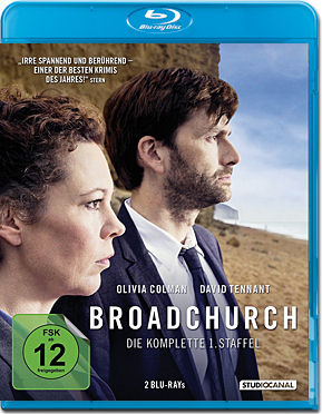 Broadchurch: Staffel 1 Box Blu-ray (2 Discs)
