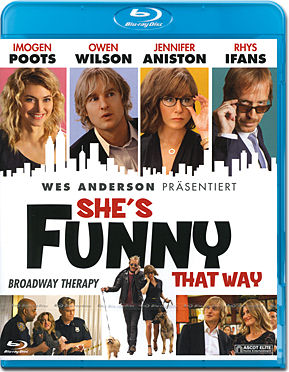 She's Funny That Way - Broadway Therapy Blu-ray