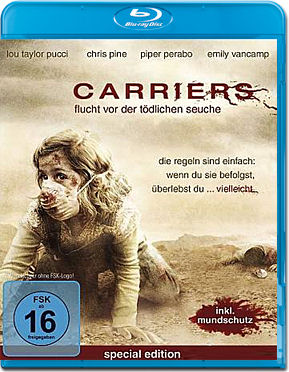 Carriers Blu-ray