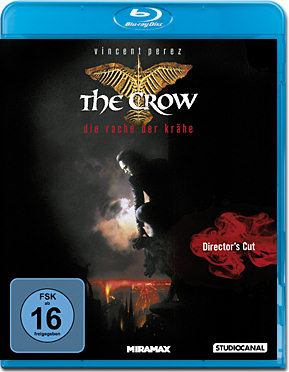 The Crow 2: Die Rache der Krähe - Director's Cut Blu-ray
