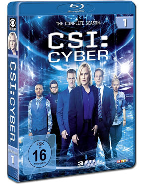CSI: Cyber - Staffel 1 Box Blu-ray (3 Discs)