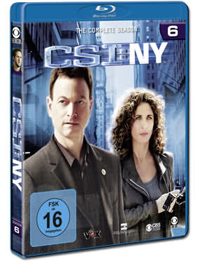 CSI: New York - Die komplette Season 6 Box Blu-ray (4 Discs)
