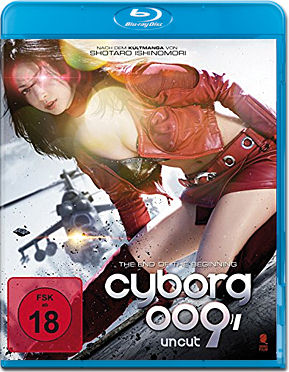 Cyborg 009: The End of the Beginning Blu-ray