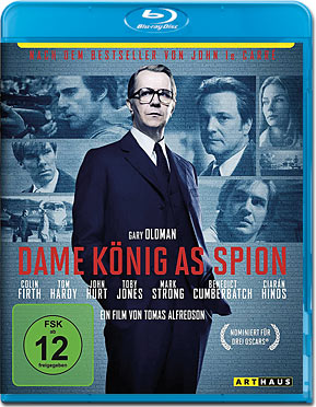 Tinker Tailor Soldier Spy - Dame König As Spion Blu-ray