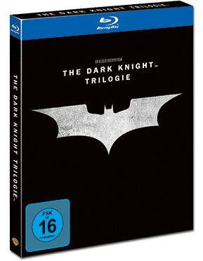 The Dark Knight Trilogie Blu-ray (5 Discs)