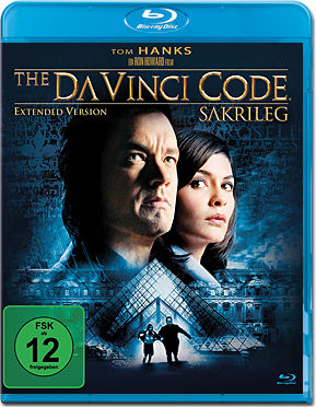 The Da Vinci Code - Extended Version Blu-ray