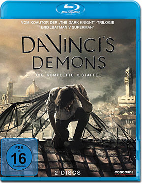Da Vinci's Demons: Staffel 3 Box Blu-ray (2 Discs)